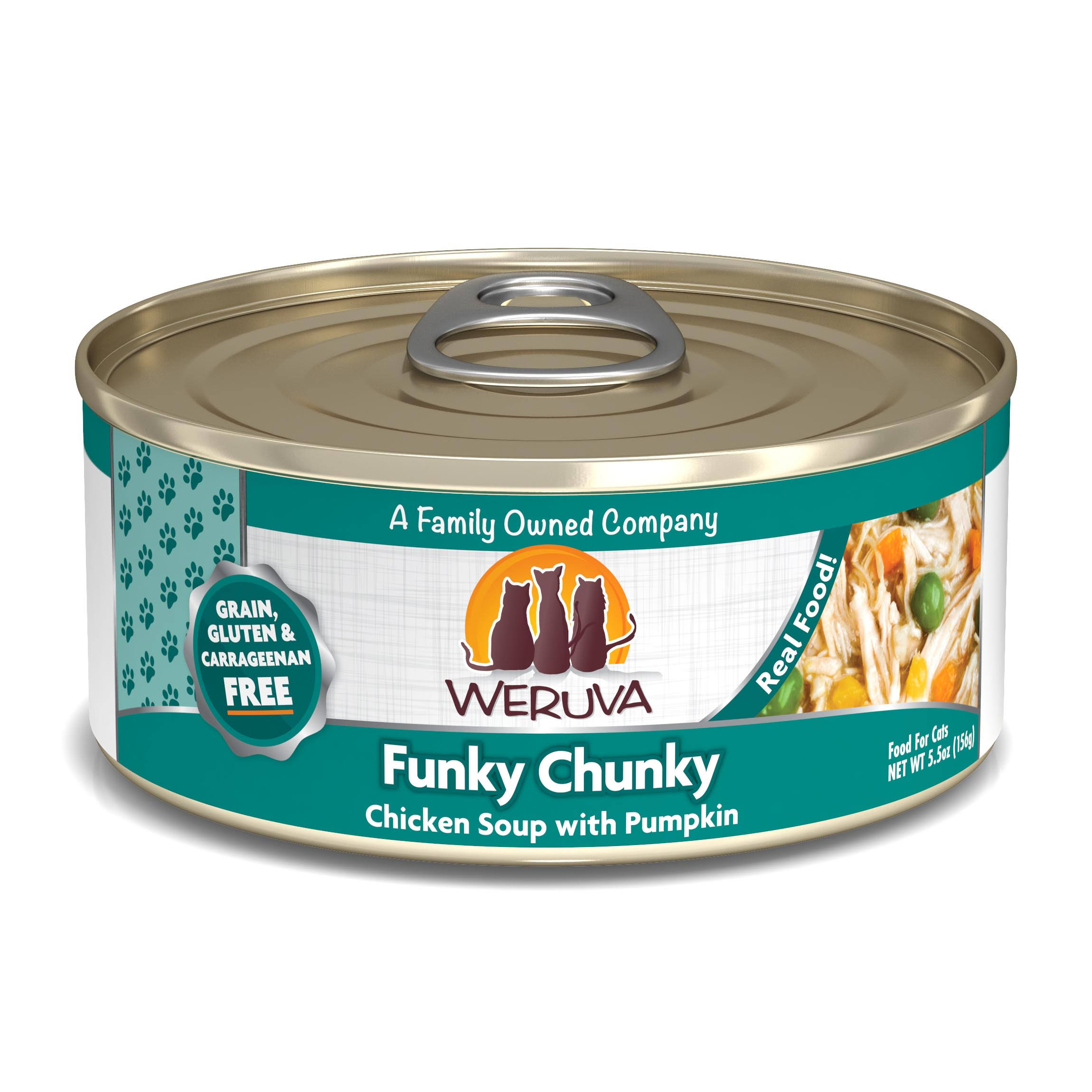 Weruva Canned Cat Food - Funky Chunky, 5.5oz