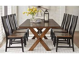 9108 7-Piece Solid Wood Dining Table With X Base Trestle By Warehouse M At  Pilgrim Furniture City Costco Agio 7 Pc High Dning Set With Fire Table 1299 Piece Kitchen Table Set Mascaactorg Ding Room Simple Fniture Of Cheap Table Sets Annis 7pc Chair Fair Price Art Inc American Chapter 7piece Live Edge Whitney Piece Trestle By Liberty At And Appliancemart Intercon Belgium Farmhouse Rustic Kitchen Island Avon Oval Dinette Kitchen Ding Room With 6 Round With Chairs 1211juzxspiderwebco 9 Pc Square Dinette Ding Room 8 Chairs Yolanda Suite Stoke Omaha Grey