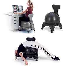 gaiam balance ball chair black walmart com