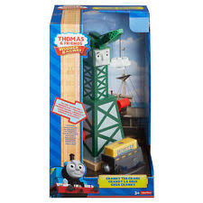 Thomas And Friends Tidmouth Sheds Wooden by Cranky The Crane Games Toys U0026 Train Sets Ebay