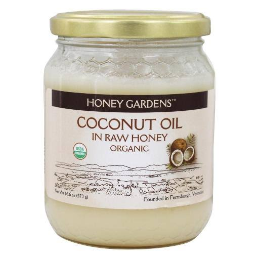 Honey Gardens Coconut Oil In Raw Honey - 1lb