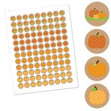 Central Wisconsin Pumpkin Patches by Amazon Com Pumpkin Patch Fall U0026 Halloween Round Candy Sticker