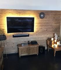 wandverkleidung wohnzimmer holz caseconrad