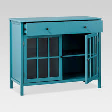 windham 2 door accent buffet cabinet with shelves threshold