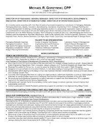 Resume For Manufacturing Portablegasgrillweber Engineer