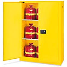 Flammable Liquid Storage Cabinet Requirements by Standard Flammable Storage Cabinet Self Closing Doors Yellow