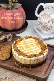 Pumpkin Cheesecake Gingersnap Crust Food Network by Pressure Cooker Pumpkin Cheesecake Pint Sized Baker