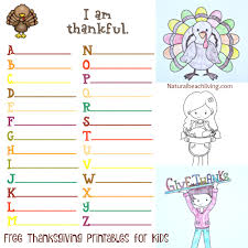 Perfect Thanksgiving Printables For Kids