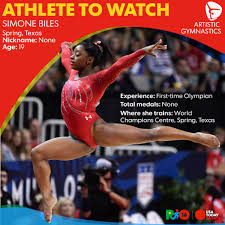 Simone Biles Floor Routine Score by Simone Biles Could Be Olympic Games U0027 Shining Star