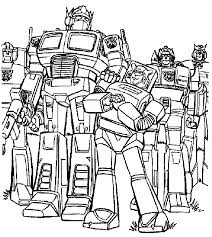 54 Transformers Coloring Pages 8429 Via Azcoloring