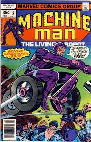 Machine Man 1978 1st Series 2