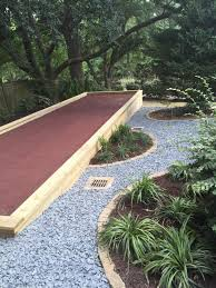 Madison Landscape Company, LLC - Before And After Bocce Ball Courts Grow Land Llc Awning On Backyard Court Extends Playamerican Canvas Ultrafast Court Build At Royals Palms Resort And Spa Commercial Gallery Build Backyards Wonderful Bocceejpg 8 Portfolio Idea Escape Pinterest Yards