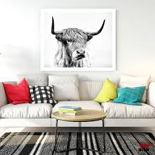 Posters Wall Art Printed Canvas Painting For Living Room Decoration
