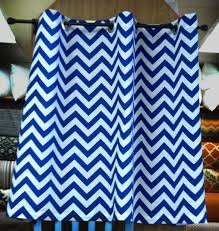 Navy Blue Chevron Curtains Walmart curtain using charming chevron curtains for lovely home