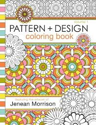 Buy Pattern And Design Coloring Book 1 Jenean Morrison Adult Books Online At Low Prices In India