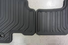 2011 2017 honda odyssey all season floor mats black set of 4