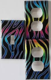 Zebra Print Bedroom Decor by Rainbow Zebra Safari Animal Print Hanging Lamp Zebra Print Room