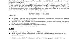 Front Office Job Resume by Medical Office Administration Duties Job Description Office