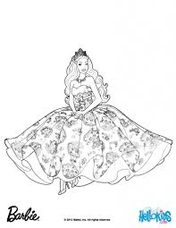 Princess Barbie Coloring Pages The Popstar For Girls Free
