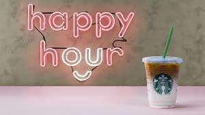 Half Off Drinks At Starbucks Happy Hour On Thursday But Theres A Catch