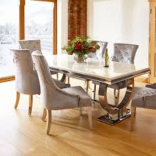 Furniture Fancy Italian Marble Dining Table 20 Top Uk 6 Chairs Round For Sale Feng Shui