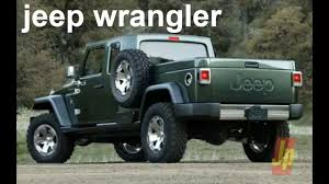 2019 Jeep Wrangler Pickup Truck To Feature Convertible Soft Top ...
