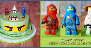 maike s süße welt lego ninjago torte