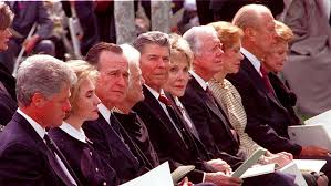 Funeral For A President Richard Nixon April 27 1994