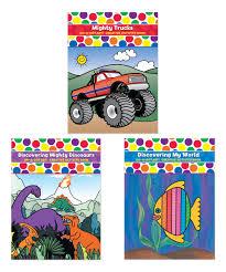100 Mighty Trucks DoADot Art Dinosaur Discovering My World Activity
