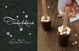 trinkschokolade am stiel geschenke aus der küche