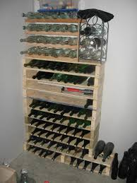 Diy Wood Wine Rack Plans by Wine Racks And Bars Made Of Recycled Wooden Pallets