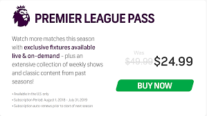 NBC Sports English Premier League Pass (50% Off, Down To ...