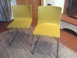 ikea bernhard leder 2 stück stühle stuhl esszimmer