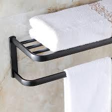 handtuchhalter antik messing bad accessoires schwarz