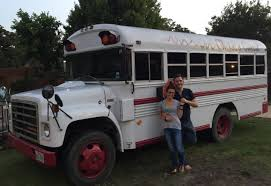 Couple Converts 30 Year Old Church Bus Into Luxury RV Upvoted