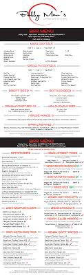 Bar Menu ‹ Bobby Mao s Chinese Kitchen Bar