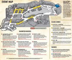 Halloween Horror Nights Parking Orlando by Universal Orlando Halloween Horror Nights 2015 Map