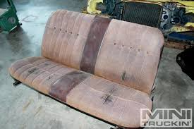 Chevy LUV Bed And Interior Bench Seat Replacement - Junkyard Jewel ... Bench Truck Seat Seats For Trucks Lovely Covers Walmart Replacement Gm Oem Suburban Tahoe 3rd Third Row 2007 2008 2009 Installing An Affordable Interior Hot Rod Network Amazon Com Ford Xl Work Bottom Gmc What You Should Know About Car Ranger Fx4 Regular Cab 6040 Front 1998 Super Duty F250 F350 2001 2002 2003 Custom Bucket Chevy Best Resource 2006 Silverado Gmc Sierra Leather Camo Things Mag Sofa Chair Chevrolet Parts Upholstered