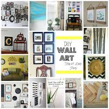 diy canvas wall art hometalk