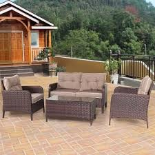 Sonoma Outdoorstm Presidio Patio Loveseat Glider by Wicker Patio Furniture Outdoor Seating U0026 Dining For Less