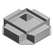 Legrand Floor Boxes Rfb4 by Metallic Floor Boxes Graybar Store
