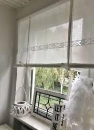 details zu raffrollo gardine spitze weiß vintage shabby chic 80 120 140 160x100 cm