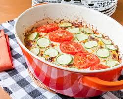 comment cuisiner des courgettes recette gratin de courgettes et tomates