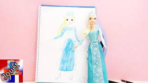 Dessin De La Reine Des Neiges Elsa Livre De Coloriage Top Model La