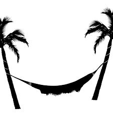 Hammock and Palm Trees transparent PNG StickPNG