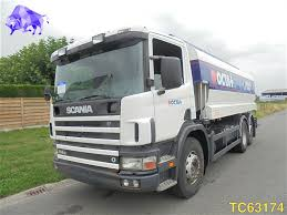SCANIA G 114 Euro 3 RETARDER Fuel Trucks For Sale From Belgium, Buy ...
