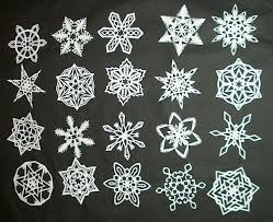 DIY How to Make 6 Pointed Paper Snowflakes 11 Steps with