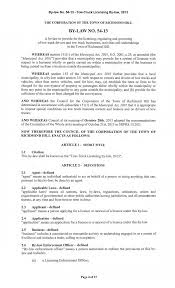 BY-LAW NO. 54-2013 -