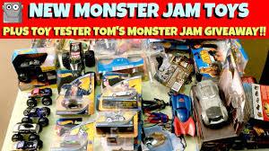 NEW MONSTER JAM Toys + TTT Monster Jam Giveaway!!