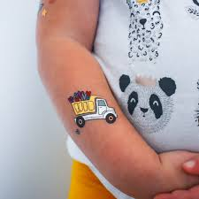 100 Truck Tattoo LOADS OF LOVE KIDS METALLIC VALENTINES DAY FUN TATS BY FLASH TATTOOS